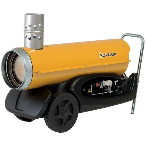 Chauffage air pulsé mobile au fuel HPV 20 - Sovelor