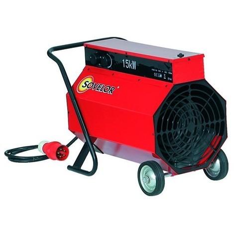Chauffage air pulse mobile electrique 15 kw