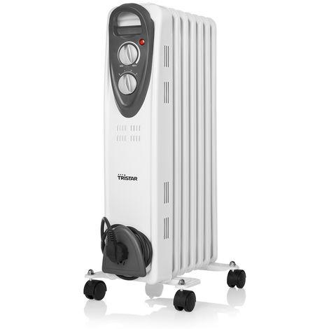Chauffage bain d'huile TRISTAR 1500W ou 2000W - plusieurs modèles disponibles