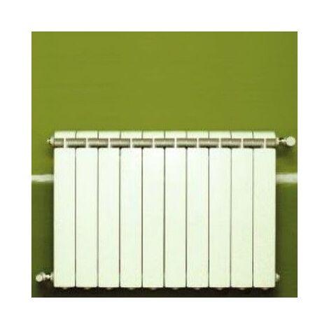 Chauffage central fonte aluminium 10 éléments blanc KLASS 500, 1160w