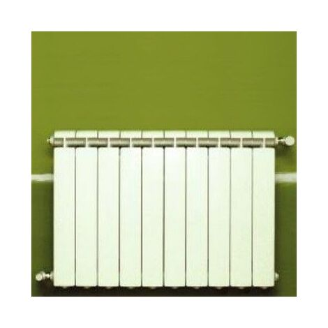 Chauffage central fonte aluminium 10 éléments blanc KLASS 600, 1320w