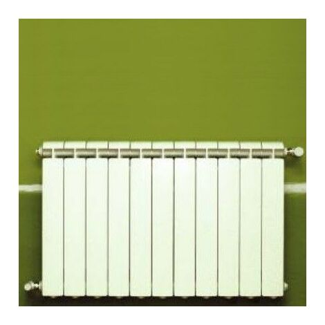 Chauffage central fonte aluminium 11 éléments blanc KLASS 600