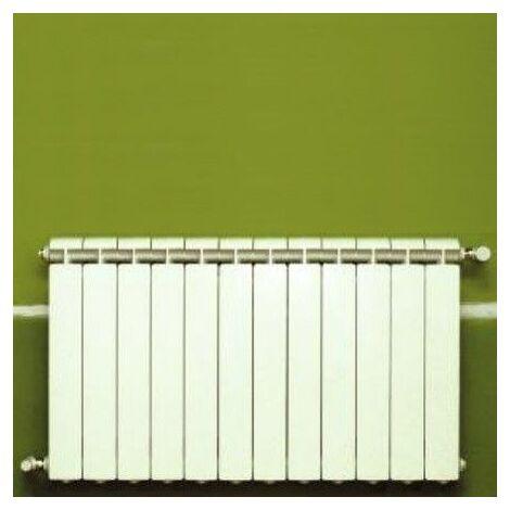 Chauffage central fonte aluminium 12 éléments blanc KLASS 600, 1584w