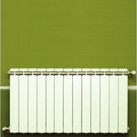 Chauffage central fonte aluminium 13 éléments blanc KLASS 600, 1716w