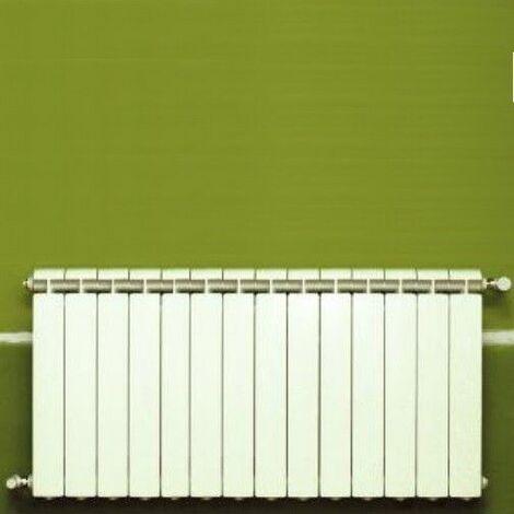 Chauffage central fonte aluminium 14 éléments blanc KLASS 600, 1848w