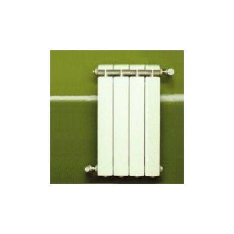 Chauffage central fonte aluminium 4 éléments blanc KLASS 800, 648w