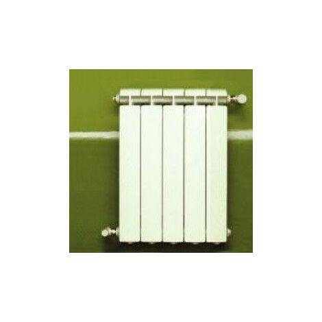 Chauffage central fonte aluminium 5 éléments blanc KLASS 800, 810w