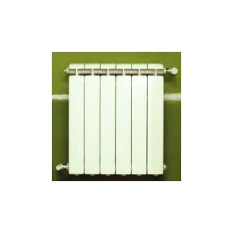 Chauffage central fonte aluminium 6 éléments blanc KLASS 350, 510w