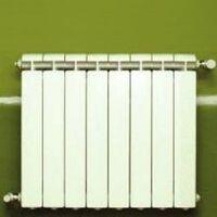 Chauffage central fonte aluminium 8 éléments blanc KLASS 350