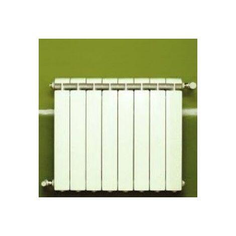 Chauffage central fonte aluminium 8 éléments blanc KLASS 600, 1056w
