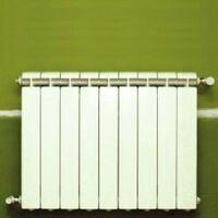 Chauffage central fonte aluminium 9 éléments blanc KLASS 500