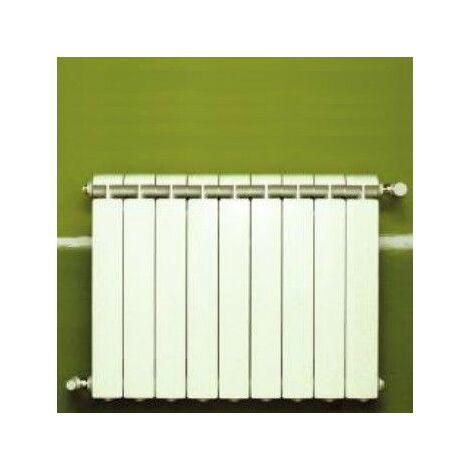 Chauffage central fonte aluminium 9 éléments blanc KLASS 600