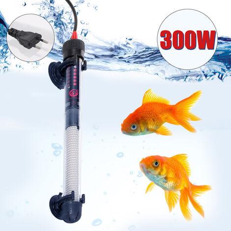 """main image of """"Chauffage Chauffe-Aquarium Submersible Thermostat Automatique Chauffe-Eau D'Aquarium 300W Temperature Reglable Avec Ventouse"""""""