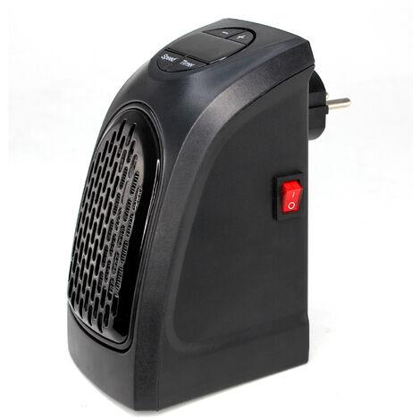 Chauffage d'appoint Electrique sur Prise Murale 400 W - Ecran LCD avec Thermostat
