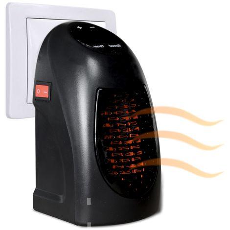 Chauffage d'appoint thermo-céramique 400 W sur prise