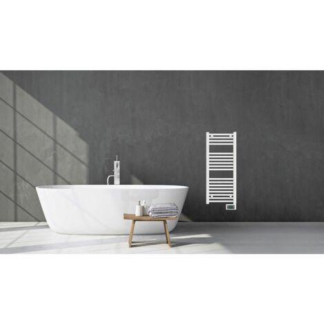 Chauffage de salle de bains Oléron 2 LARGEUR 40 CM - 500W - NOIROT - Blanc - Blanc