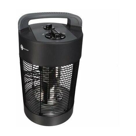 Chauffage de terrasse - modèle de table - cylindrique - 700 w - ipx4 - étanche aux éclaboussures