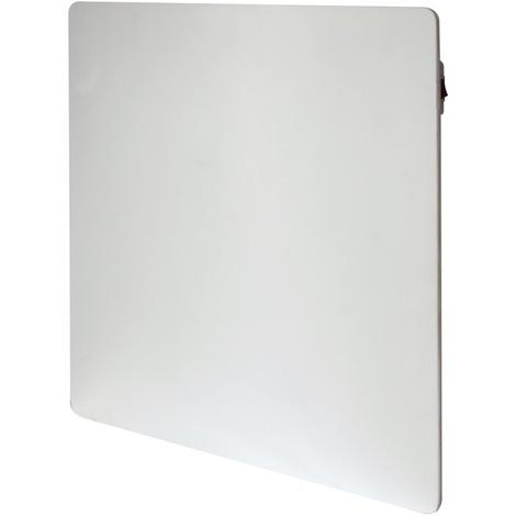 Chauffage décoratif blanc à inertie sèche 550W thermostat