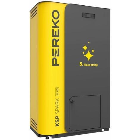 Chauffage efficace de puissance de 14kw 5ème classe d'énergie chaudière bois pellet pereko ksp étincelle