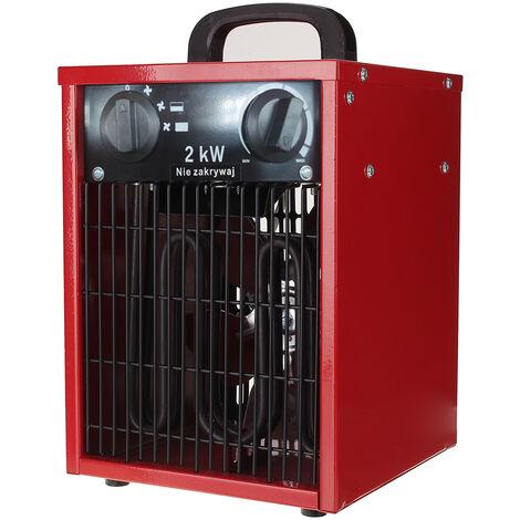 Chauffage électrique 2000W radiateur soufflant radiateur