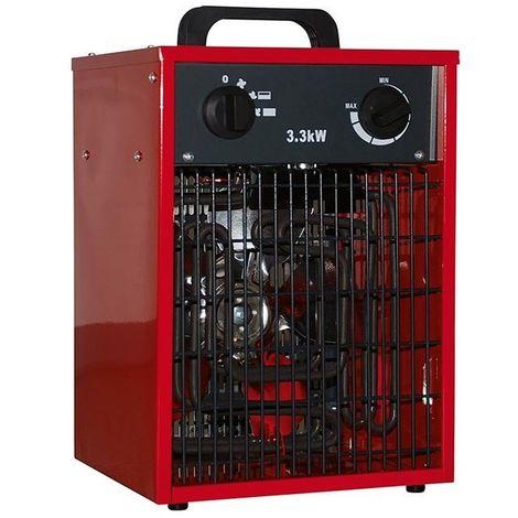 Chauffage électrique 3 kW IP20 IFH01-33H-13 - 230 V