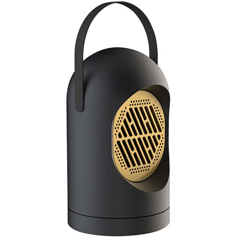 Chauffage Electrique De Chauffage Domestique Ventilateur 2S Chauffage Rapide Chaud Ventilateur 220 V Bureau Ventilateur, Noir