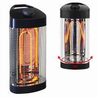 Chauffage Electrique Extérieur et Interieur - Oscillant 120° - Tubes fibre de Carbone