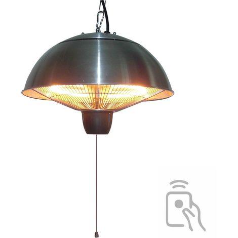 Chauffage électrique suspendu 2100w lampe halogène pour jardin terrasse intérieur véranda atelier