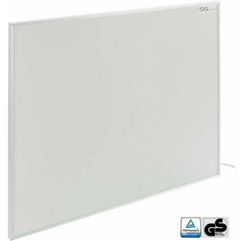 Chauffage infrarouge (450 W, 705 x 605 x 22 mm, GS, Protection anti-surchauffe) - radiant électrique radiateur