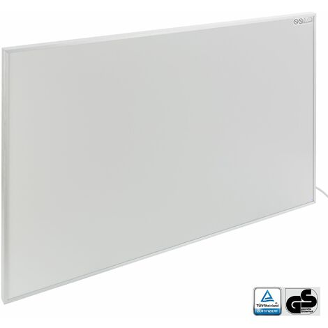 Chauffage infrarouge (580 W, 905 x 605 x 22 mm, GS, Protection anti-surchauffe) - radiant électrique radiateur