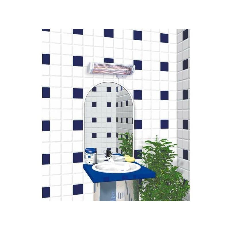 chauffage infrarouge applimo quartz 2 minuterie 600w. Black Bedroom Furniture Sets. Home Design Ideas