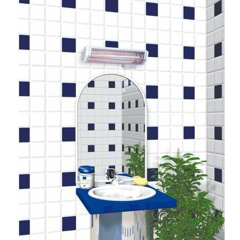 Chauffage infrarouge salle de bain QUARTZ 2 - minuterie EN OPTION