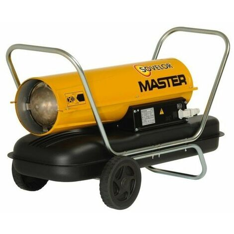 CHAUFFAGE MASTER SOVELOR AIR PULSÉ MOBILE AU FUEL COMBUSTION DIRECTE-B70P - -