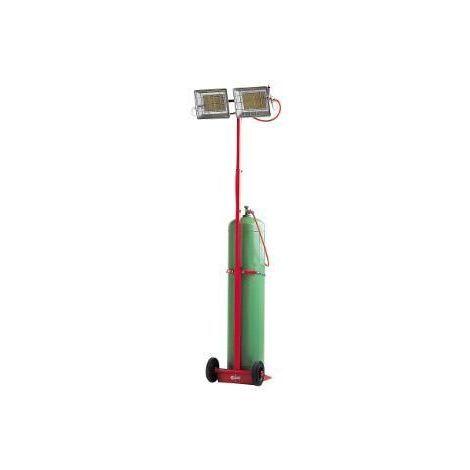 Chauffage Mobile Radiant au Gaz Sovelor SOLOR 8500 MCA-SOVELOR