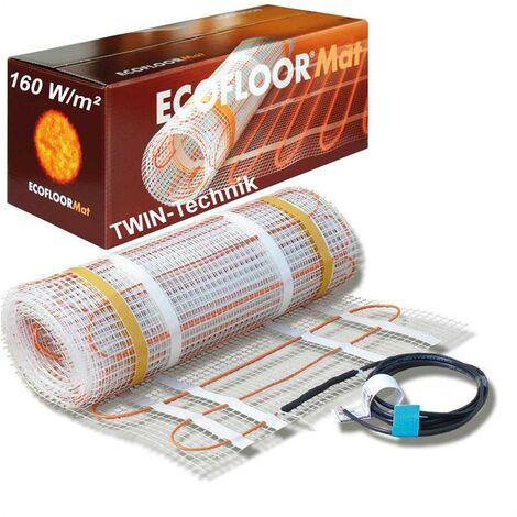 Chauffage par le sol électrique Tapis de chauffage par le sol 160w/ m² 1- 12m²