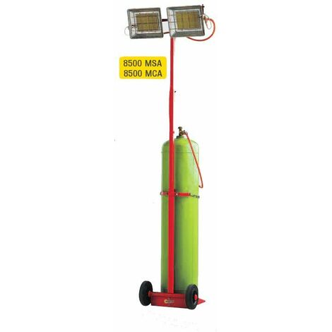 CHAUFFAGE RADIANT MOBILE SOVELOR AU GAZ GAMME SOLOR- 8500 MSA - -