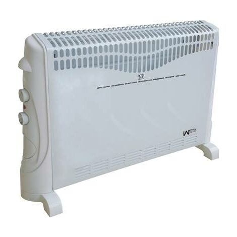 Audacieuse Chauffage radiateur électrique convecteur 2000W sur pied ou mural PD-54