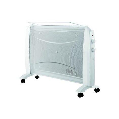 Chauffage radiateur panneau rayonnant 1500W mobile (roulette)