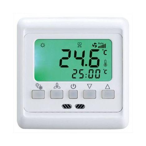Chauffage salle numérique étage du thermostat numérique 16 ampères