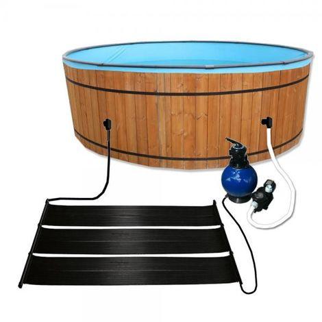 Chauffage solaire EPDM pour piscine - 6.00m x 0.66m