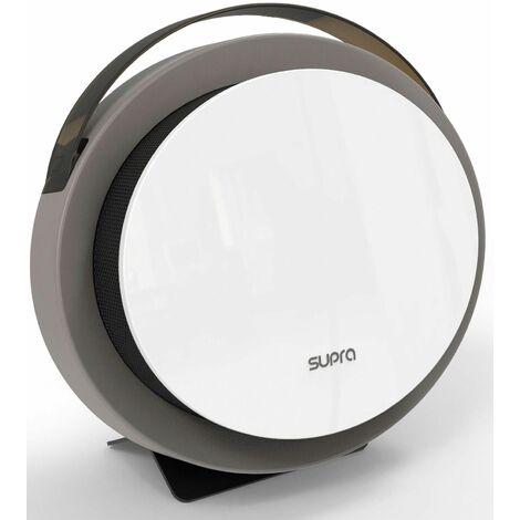 chauffage soufflant 2000w gris/blanc ip21 - calypso digital 10 - supra