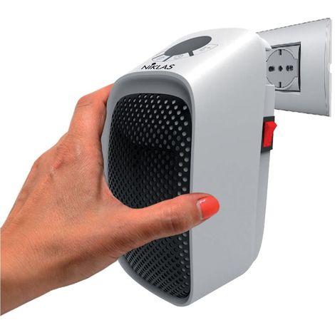 Chauffage soufflant sans fil 400w Céramique programmable NIKLAS à brancher sur une prise électrique