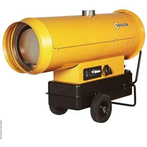Chauffage SOVELOR air pulsé mobile au fuel à combustion indirecte- EC110 - -