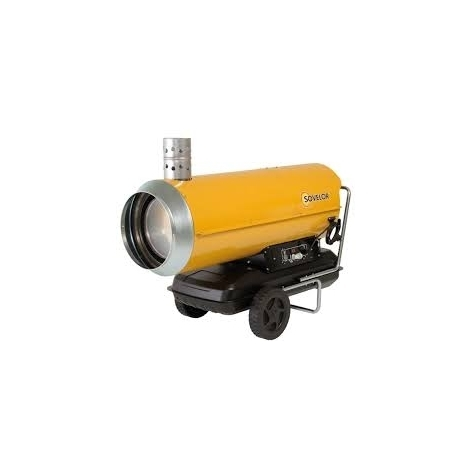 Chauffage SOVELOR air pulsé mobile au fuel combustion indirecte-HPV20 - -