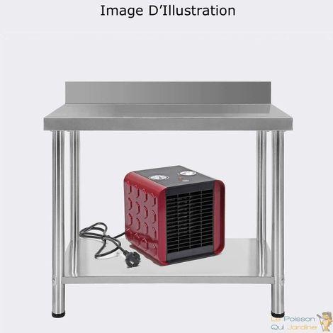 Chauffage, Ventilateur, D'Atelier, De Maison, 2 En 1, 1500 Watts