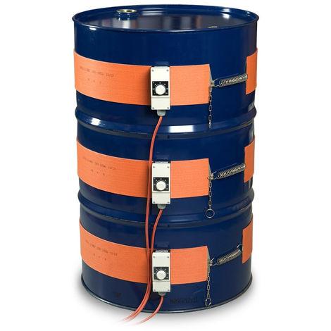 Chauffages de Fûts en Silicone 0-120ºC - 230V