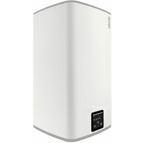 Chauffe-eau ATLANTIC plat vertical LINEO blanc 100L