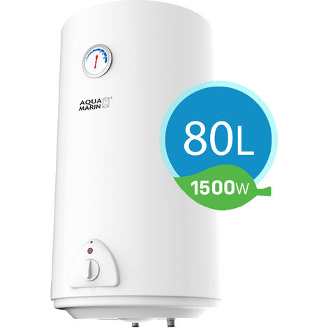 Chauffe-Eau Électrique 30/50/80/100 Litres Vertical Chaudiere Économie d'énergie