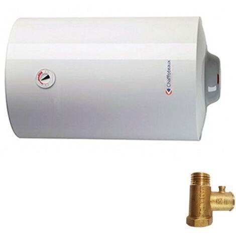Chauffe-eau électrique Chaffoteaux CHX EU2 horizontal de 80 litres 3201236
