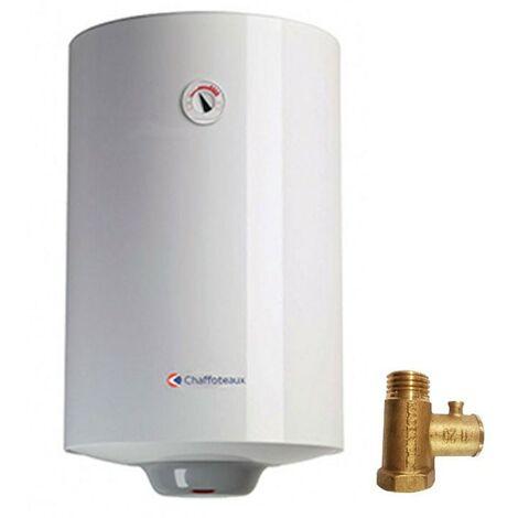 Chauffe-eau électrique Chaffoteaux CHX EVO EU 80 Litres Vertical 320115353
